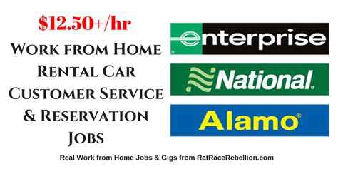 12 50 hour work from home for alamo enterprise and
