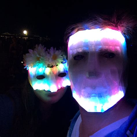 Masker Led 10 spooky 3d printed decoration and props