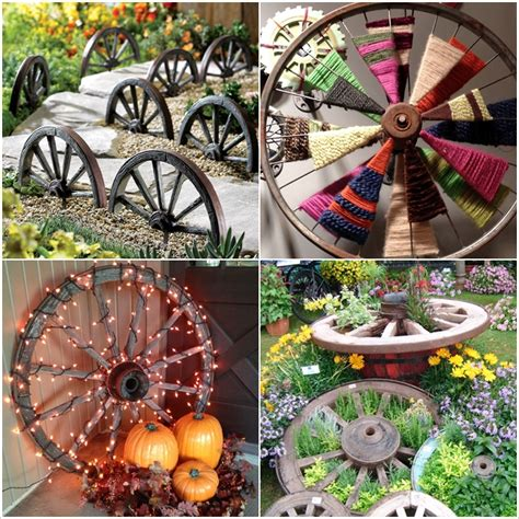 Ideas To Decorate Your Home 10 Amazing Ideas To Decorate Your Home With Wagon Wheels Home Decorating Inspiration