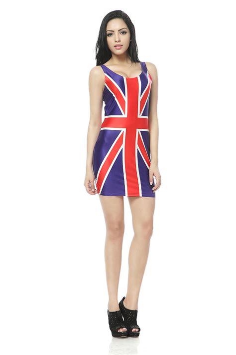 uk flag vest summer dress dresses