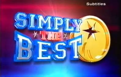 simple the best simply the best show