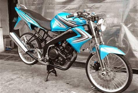 cat warna c70 modifikasi motor terbaru kumpulan gambar modifikasi yamaha vixion super keren