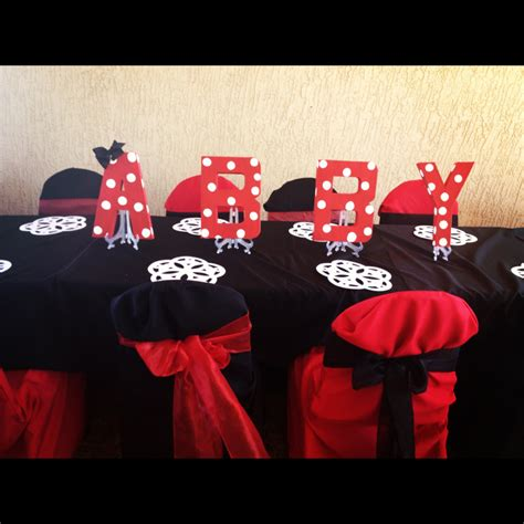 And Black Minnie Mouse Decorations by Abby S Minnie Bowtique Errific Tr 232 S Chic Affaires