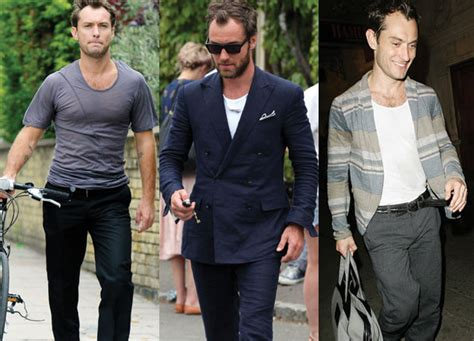 how to get jude law s style