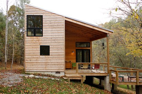 Small House Cabin modern cabin center studio architecture