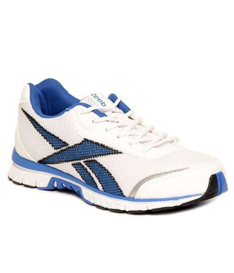 reebok versova run lp white blue running shoes buy