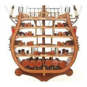 maquette bateau coupe transversale du hms victory
