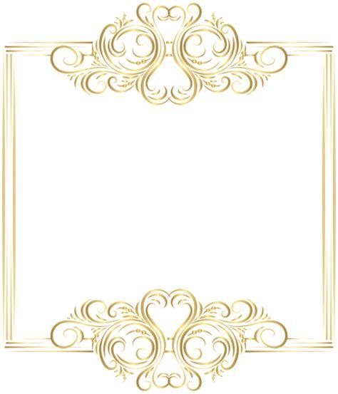 wedding golden border gold border frame png clip ramar clip