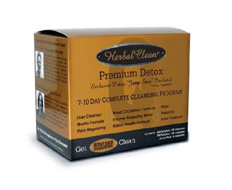 Rescue Detox 10 Day Permanent 10 Day Detox by Herbal Clean Permanent Detox Smoke Shop