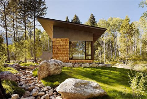 Small Homes Jackson Wyoming Fish Creek Guest House