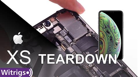 iphone xs teardown disassembly