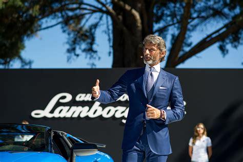 lamborghini ceo stephan winkelmann lamborghini ceo interview urus centenario motorsport