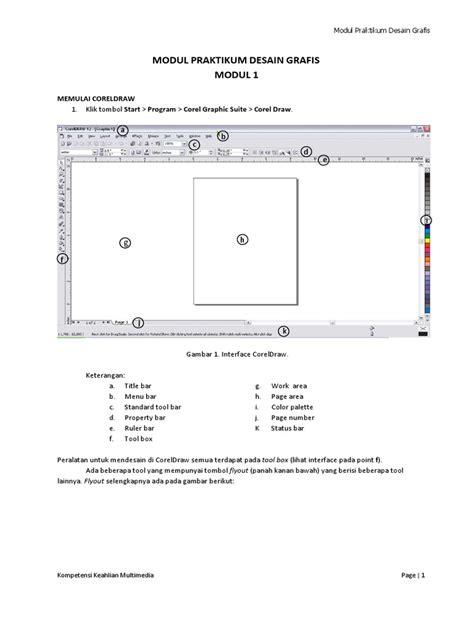 desain grafis corel draw x5 modul praktikum desain grafis corel