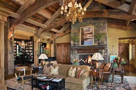 25 sublime rustic living room design ideas