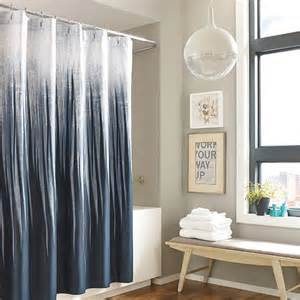 kenneth cole horizon cotton shower curtain beach style
