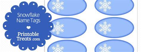 printable snowflake tags free printable snowflake name tags printable treats com