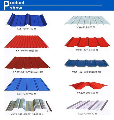 sheet types building material all type high quality metal roofing