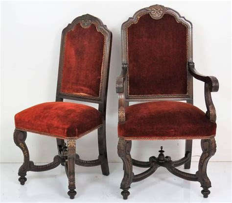 six italian style carved dining chairs for sale at 1stdibs