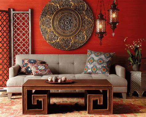 moroccan style home decorating colorful and home