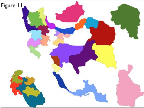 map of iran provinces september 2013 archives geocurrents