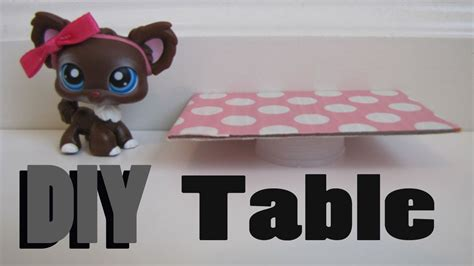 how to make a lps couch diy furniture how to make a lps table youtube