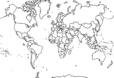 mapa del mundo en blanco y negro mapa mundi en blanco con nombres www pixshark com