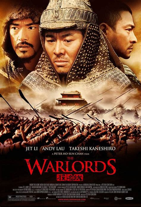Chinese Film Warlords | the warlords poster