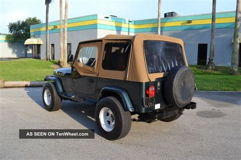 jeep wrangler stance 1993 jeep wrangler auto 31 inch tires wide