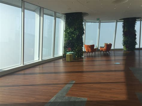 salesforce tower observation deck  open  public