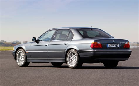 bmw v12 bmw 750il v12 e38 rear three quarter view photo 38