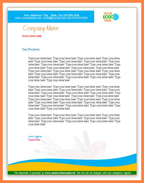 Microsoft Business Templates Small Business by 8 Microsoft Business Letterhead Templates Company