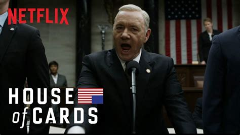 house ofcards house of cards i will not yield netflix youtube