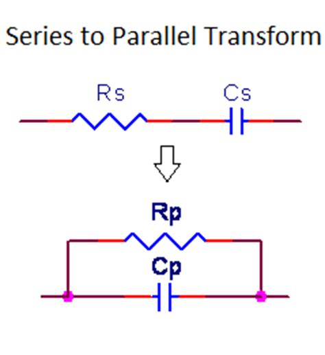capacitor resistor parallel impedance calculator rc series to parallel impedance transform calculator calctown