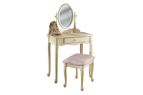powell vanity mirror and bench off white vanity mirror bench powell 929 290 at