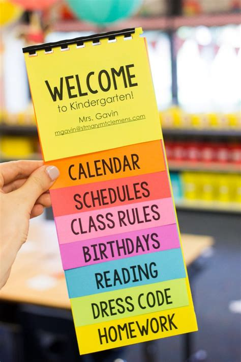 Free Parent Flip Book Template Astrobrights Colorize Your Classroom Contest Kinder Craze Free Editable Flip Book Template