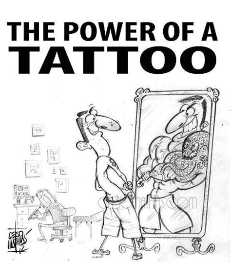 funny tattoo quotes the power of a jokes quotes sayings