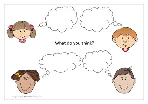 Concept Cartoon Template By Katyrooney Teaching Resources Tes Caricature Templates Free