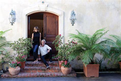 lisa rinna house la home cover story when harry met lisa