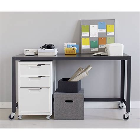 Cb2 Vanity Table by Tps White 3 Drawer Filing Cabinet Console Tables Filing And Cabinets