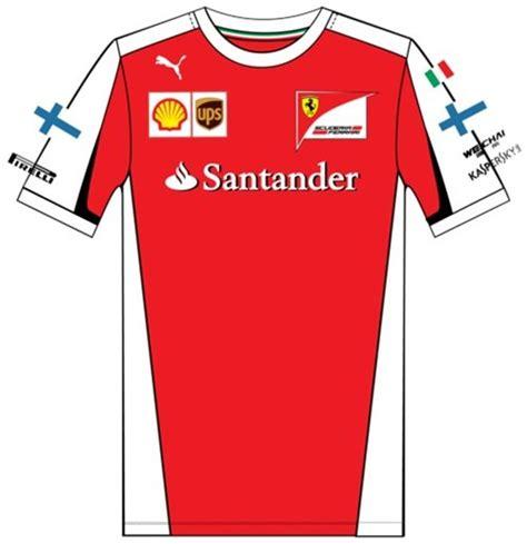 Ferrari T Shirt 2015 by Buy Official Scuderia Ferrari Replica Kimi T Shirt 2015
