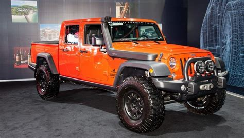 2019 Jeep 4 Door Truck by 2019 Jeep Wrangler Wagoneer Car On The Road
