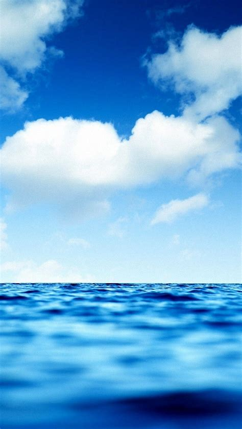 wallpaper iphone 5 sea blue sky and sea wallpaper free iphone wallpapers
