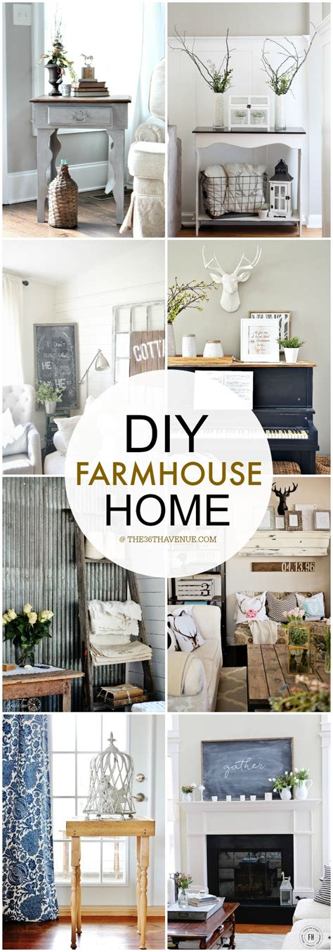diy home interiors home decor diy projects farmhouse design the 36th avenue
