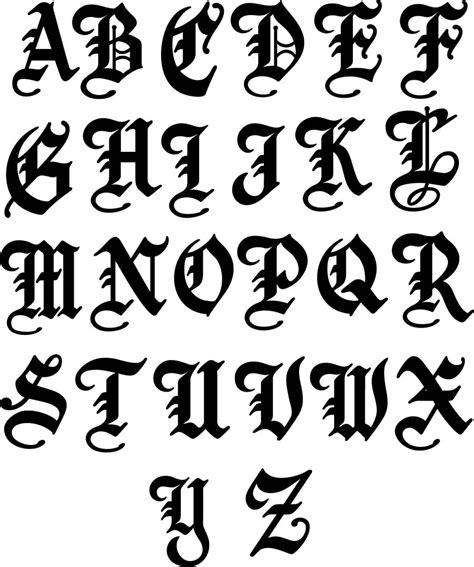 Letter Symbols single metal letter name sign