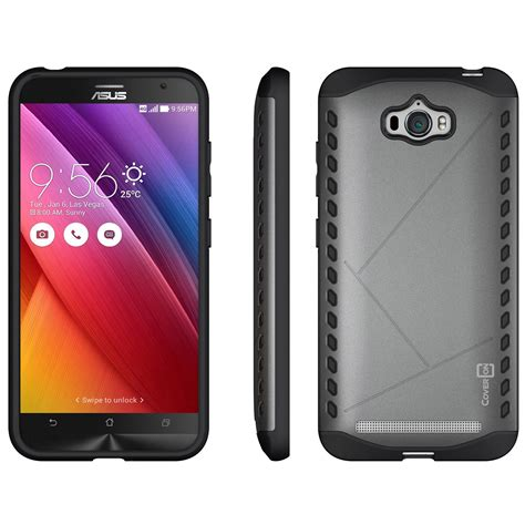Asus Zenfone 3s Max 5 2 Hybrid Armor Kickstand coveron for asus zenfone max slim fit hybrid