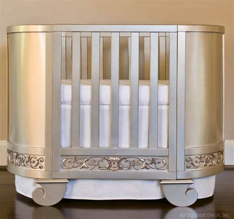 oval baby cribs you spin me right baby right project nursery