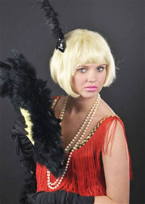 china doll 1920s 1920s flapper bob china doll wig
