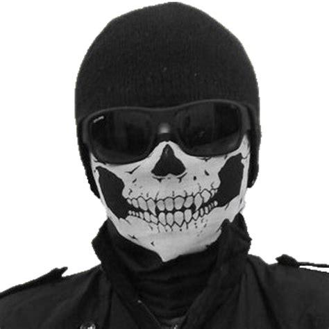 Motorrad Gesichtsmaske by Ski Sport Bicycle Motorcycle Skull Unisex Riding Shield