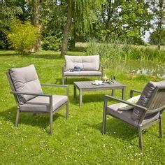 table jardin discount carrefour set encastrable de jardin osaka 1 table 6 fauteuils acier et fibre de r 233 sine