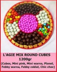 Cokelat L Agie Planet coklat l agie mix